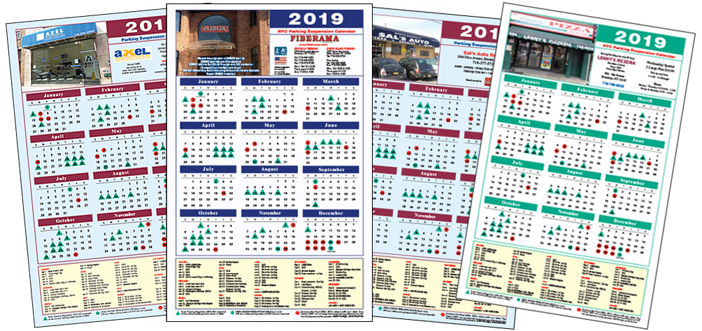 Custom Parking Pal Calendars